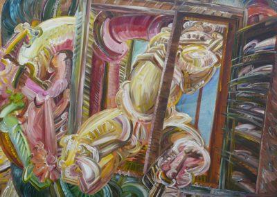 Fanfare 1968 Acryl Lwd 120x100cm