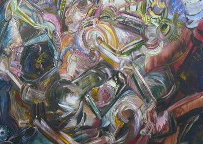 O,T. 1968 Acryl Lwd 115x95cm