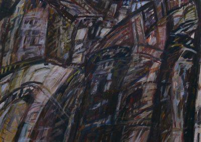 Ager 1967 Acryl Leinwand 104x82cm