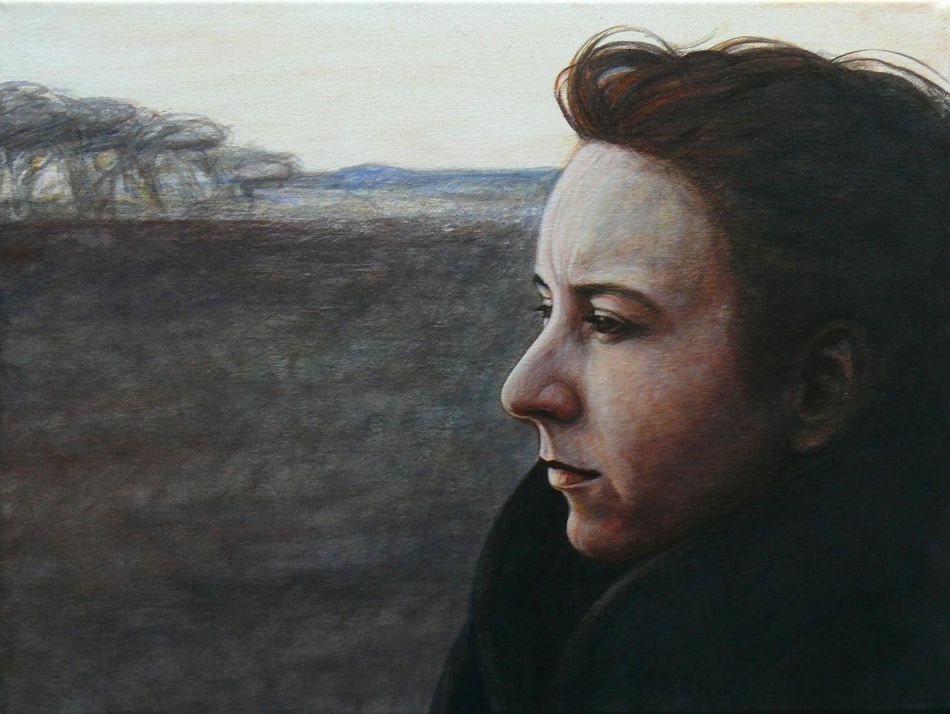 Ruth   2020 (rechts)   Diptychon Acryl/Leinwand   48x36 cm