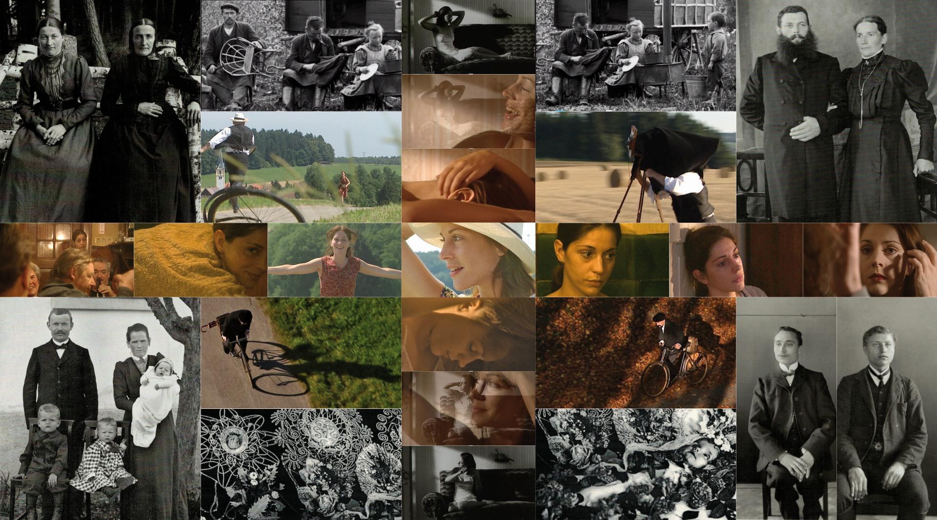 PÖHLERS PASSAGEN      Zusammenstellung der Bildmotive für den malerischen Prozess