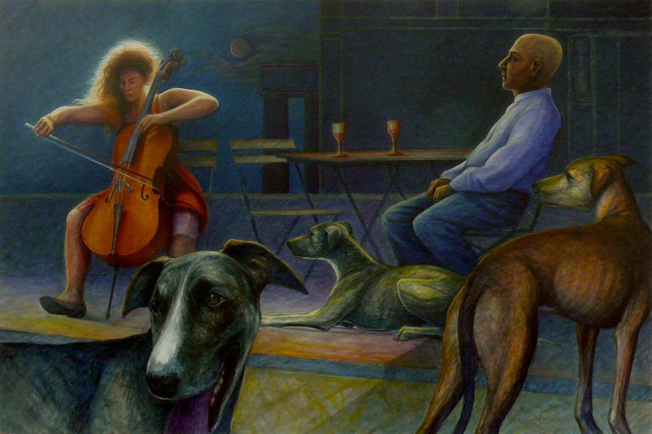 Nocturne Acryl/Leinwand 150 x 90 cm 2020